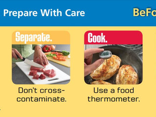 Food safety - at work and at home