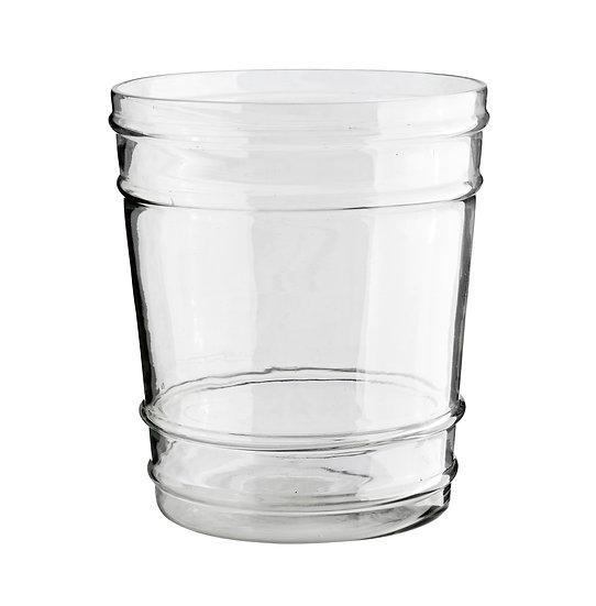 עציץ זכוכית L