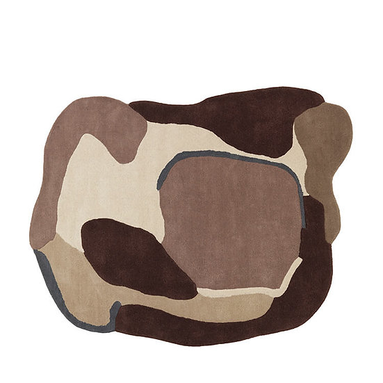 שטיח גווני חום VIVIAN