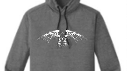Dark Grey T-Shirt Hoodie