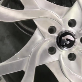 Brush job on your rims
