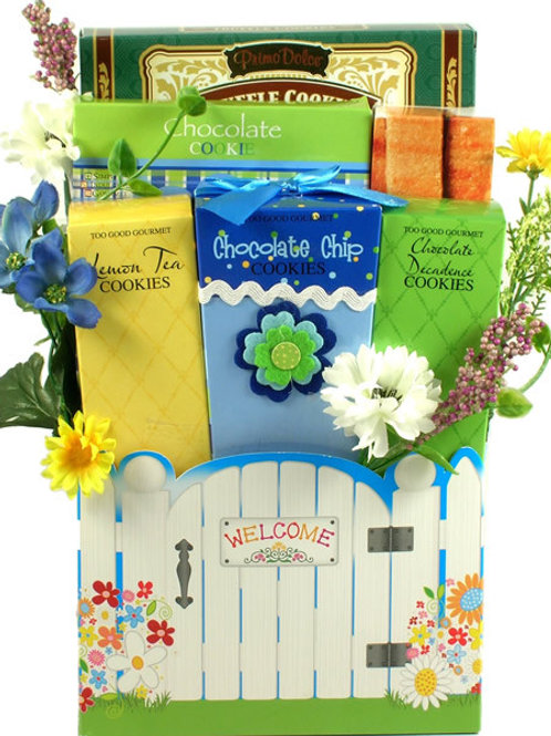 Welcome Cookie Arrangement Gift Basket