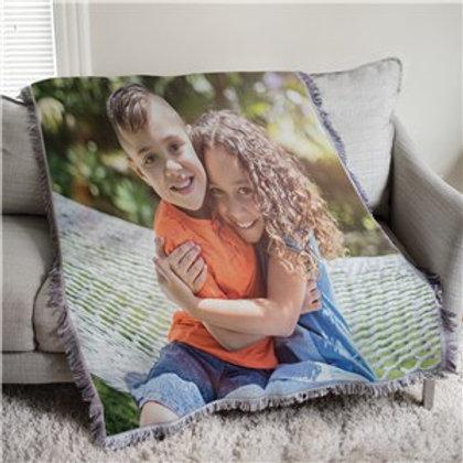 Custom Photo Tapestry Throw