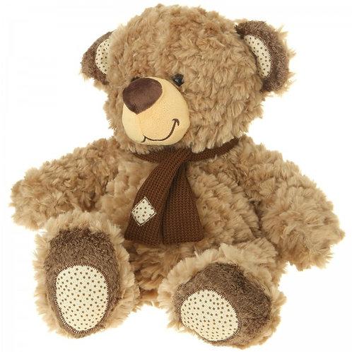 "Plush Light Brown 13"" Stuffed Teddy Bear"