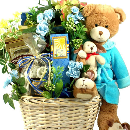 Get Well Beary Special Comfort Food Get Well Gift Basket