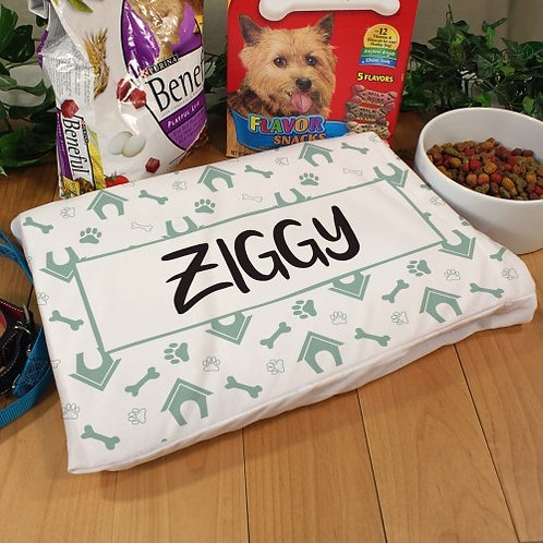 Dog Bed Personalized Pet Pillow