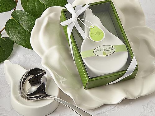 The Perfect Pair Porcelain Spoon Rest Favor