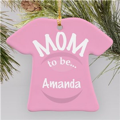A GIRL is Arriving T-Shirt Ornament