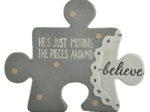 He's Just Moving the Pieces Around Puzzle Piece