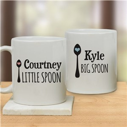 Couples Personalized Coffee Mug Set