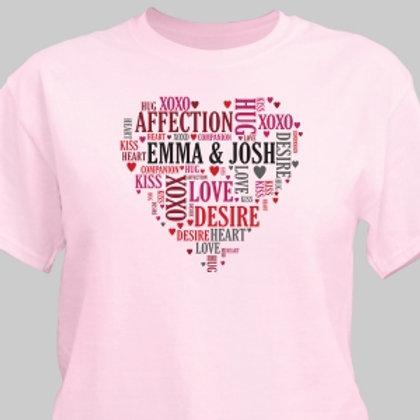 Couples Heart T-Shirt