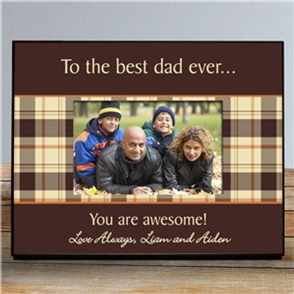 Any Message Printed Picture Frame