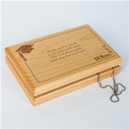 As the Tassel is Turned Graduation Valet Box