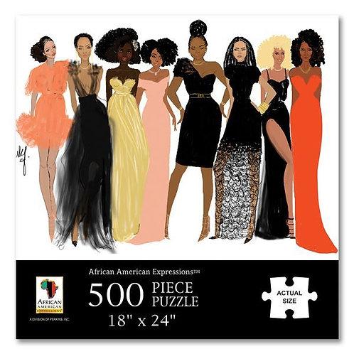 Sister Friends 500 Piece Jigsaw Puzzle