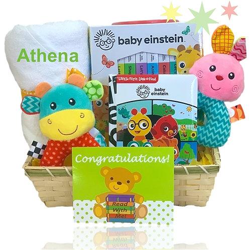 Baby Einstein Read Me Gift Basket