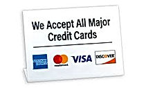All Major Credit Cards Logo