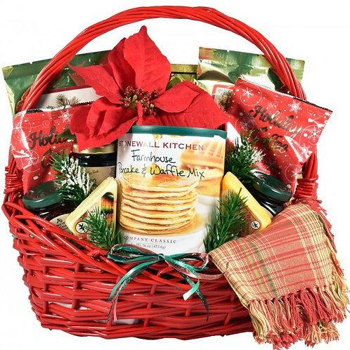 A Country Christmas Breakfast Gift Basket