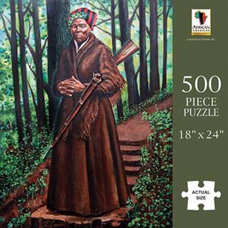 Harriett Tubman 500 Piece Jigsaw Puzzle