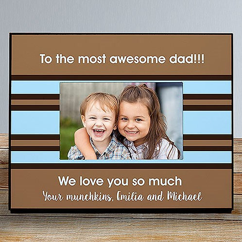 Custom Message Printed Picture Frame