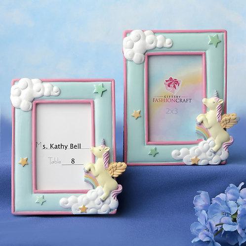 "Unicorn 2"" x 3"" Place Card Photo Frame"