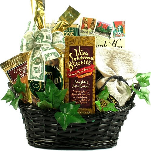 Many Thanks Appreciation Gift Basket