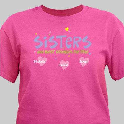 Best Friend Sister T-shirt