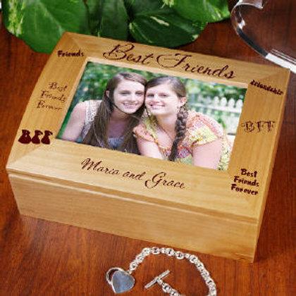 Best Friends Photo Keepsake Box