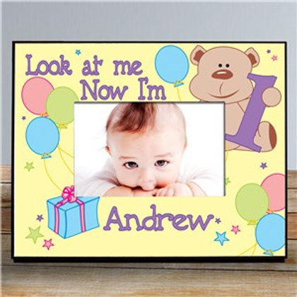 Look at Me Children's Personalized Birthday Frame