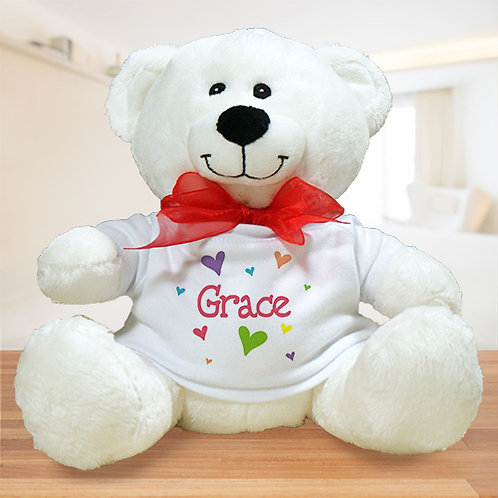 All Heart Plush Personalized Teddy Bear