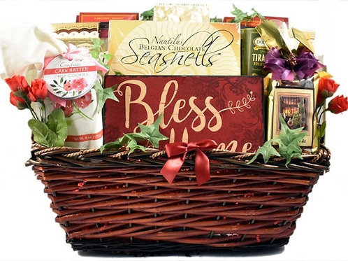 Bless This Home Housewarming Gift Basket
