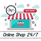 Online Shop Open 24-7