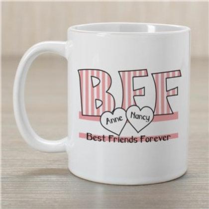 BFF Ceramic coffee Mug
