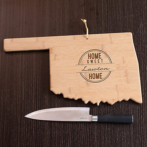 Personalized Home Sweet Home State Cutting Board (2)