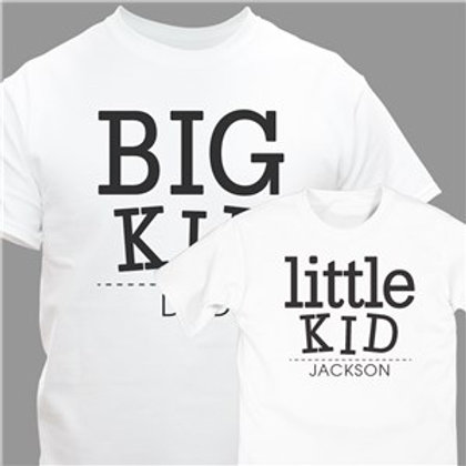 Big Kid and Little Kid Personalized T-Shirt