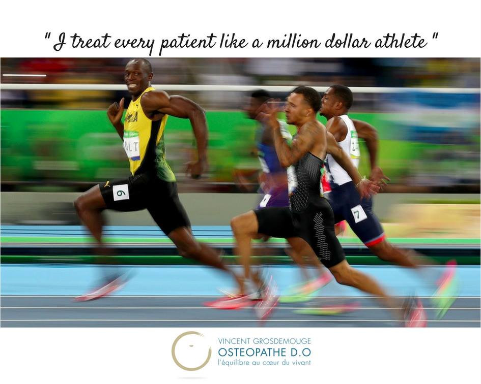 Ostéopathe Anglet spécialisé dans le sport