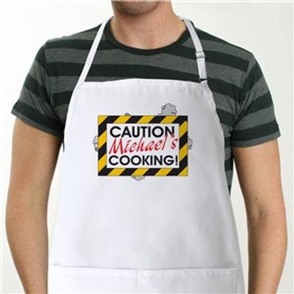 Caution Apron - Novelty Apron