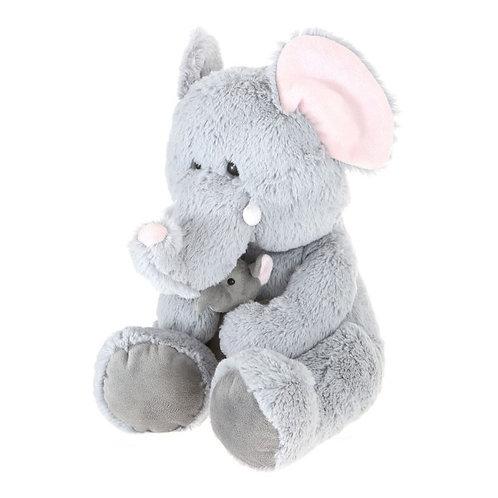 """Plush Stuffed 16"""" Baby Elephant"""