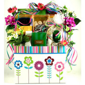 Gift Box Filled with Gourmet Goodies for Teacher Appreciation