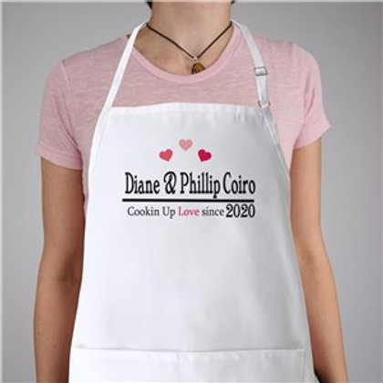 Cookin Up Love Personalized Apron