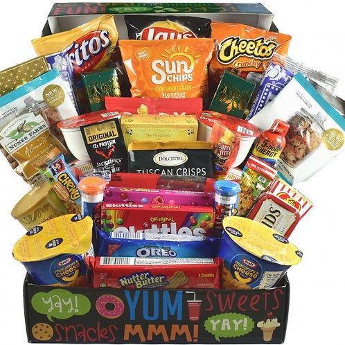 College Snacks and Treats Packaged with Care