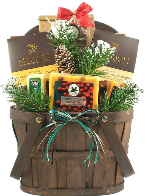 A Rocky Mountain Holiday Large Gift Basket