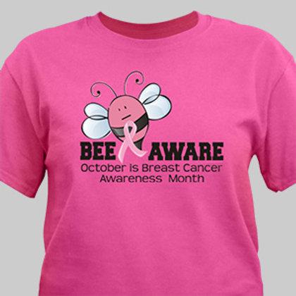 Bee Aware - Breast Cancer Awareness T-Shirt