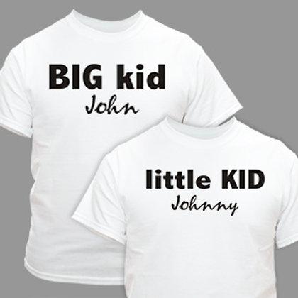 Big and Little shirts