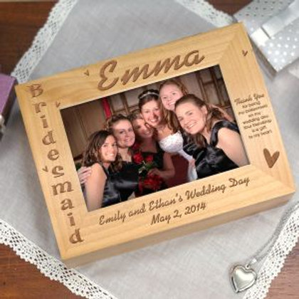 Bridesmaid Photo Keepsake Box