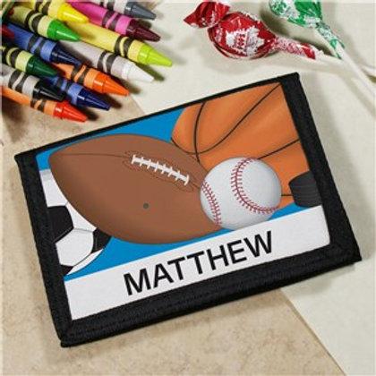 Custom Printed Sports Wallet