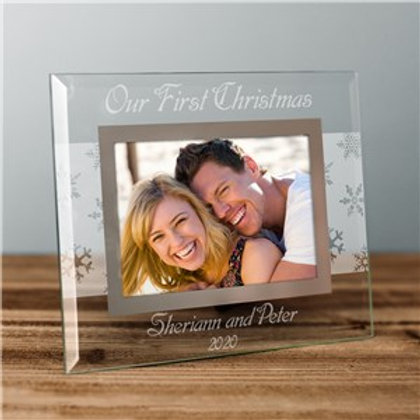 Custom Message Winter Frame