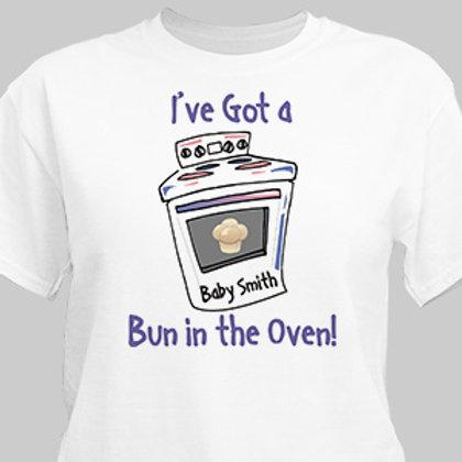 Baking Bun Maternity T-Shirt