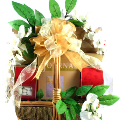 Medium Peace and Serenity Sympathy Gift Basket