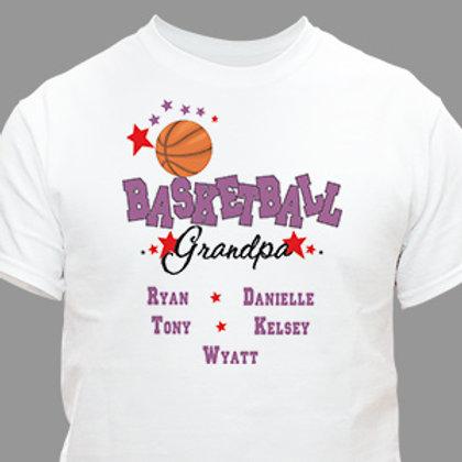 Basketball Personalized T-Shirt