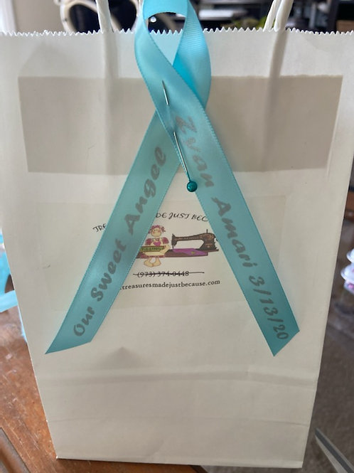 Personalized Ribbons for Memorial Service Funerals
